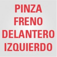 Pinza Freno Delantero Izquierdo