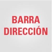 Barra Dirección